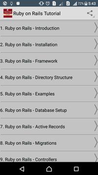 Learn Ruby on Rails poster