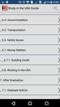 Study in the USA apk screenshot