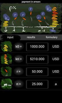 Calc Interest Solver apk screenshot
