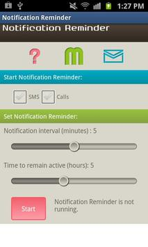 Notification Reminder screenshot 1