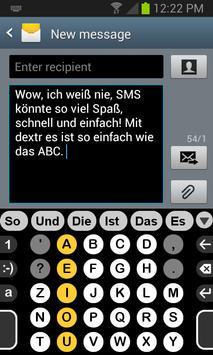 Deutsch Wörterbuch für Dextr poster