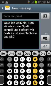 Deutsch Wörterbuch für Dextr screenshot 1