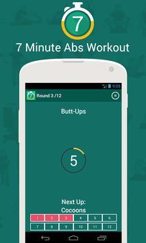 7 Min Abs Workout apk screenshot