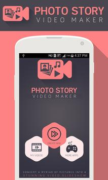 Photo Story Video Maker poster