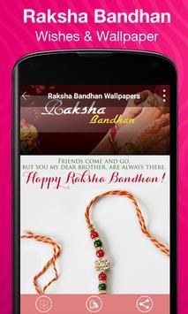 Rakhi Wishes & Wallpaper apk screenshot