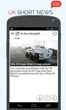 UK Short News at 30 apk screenshot