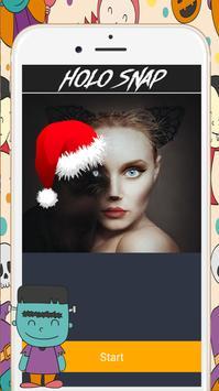 Christmas Face Makeup 🍀🍀 apk screenshot