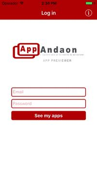 AppAndaon previewer poster