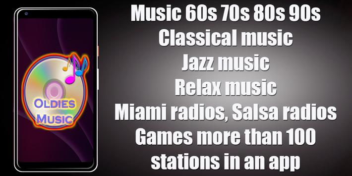 60s 70s 80s 90s Old Music Radio Free poster