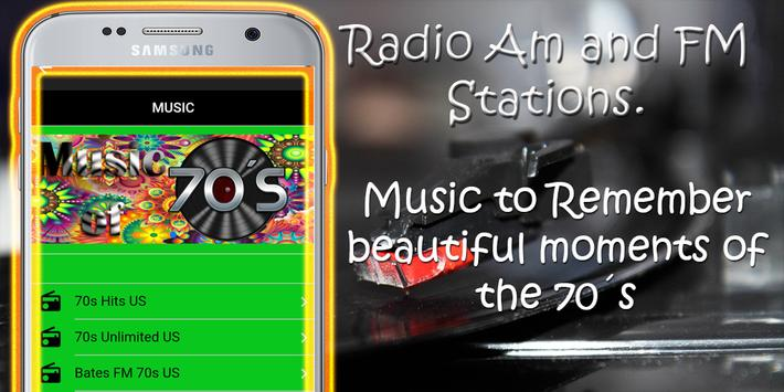 60s 70s 80s 90s Old Music Radio Free screenshot 1
