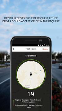 App – A – Ride Driver apk screenshot