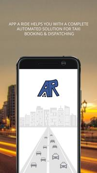 App – A – Ride Driver poster
