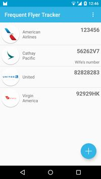 Frequent Flyer Tracker poster