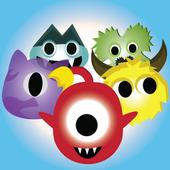 Monster Bubble Puzzle icon