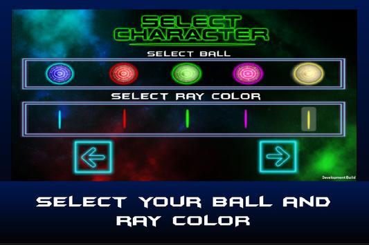 Bouncy Neon Flow Ball apk screenshot