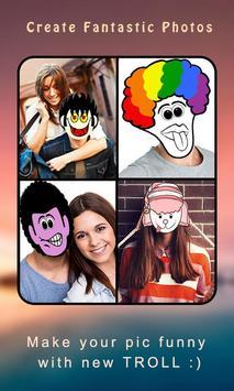 Troll Photo Maker apk screenshot