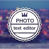Photo Text Editor icon