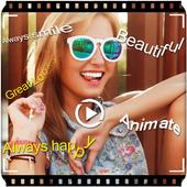 Photo Text Video icon