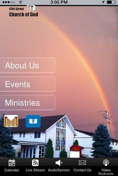 47 Street Church of God Tablet poster