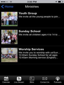 47 Street Church of God Tablet screenshot 1