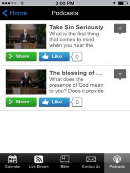 47 Street Church of God Tablet screenshot 2