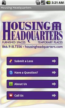 Housing Headquarters poster