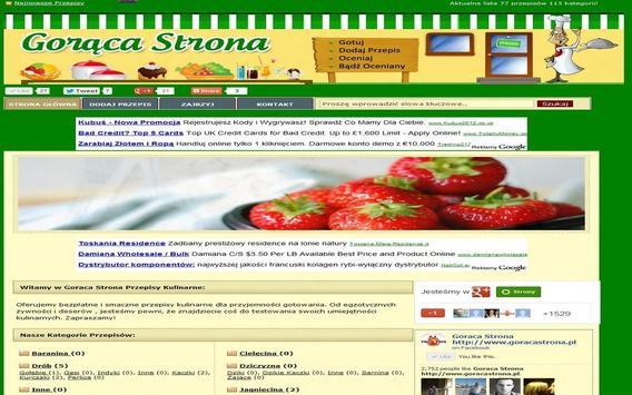 Goraca Strona apk screenshot