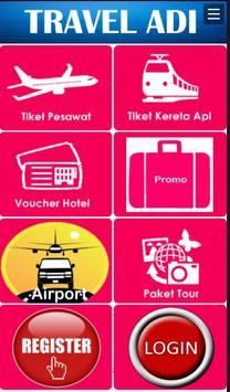Traveladi Tiket & Hotel poster