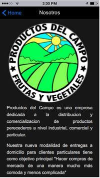 Productos del Campo screenshot 3