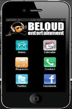 BeLoud Entertainment poster