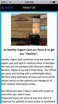 HealthyUrgentCare screenshot 4