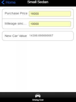 Car Depreciation screenshot 1