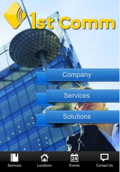 1st communication Pte Ltd poster