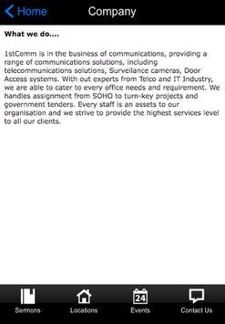 1st communication Pte Ltd screenshot 1