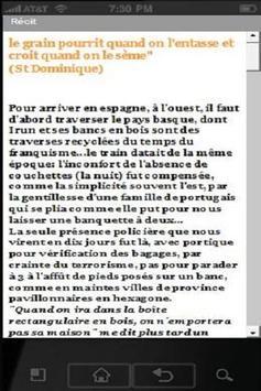 7 JOURS SUR LE CHEMIN apk screenshot