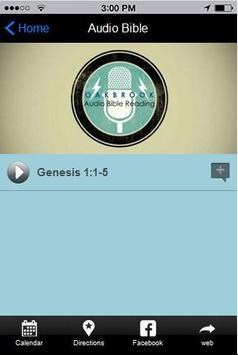 Oakbrook Bible apk screenshot