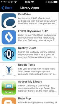 Galloway Library screenshot 1