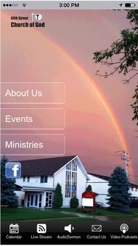 47th Street Church of God poster