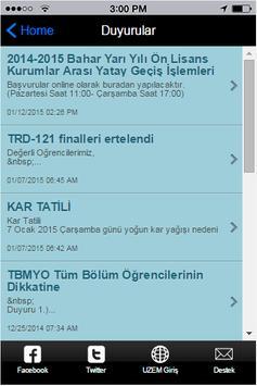 Marmara UZEM apk screenshot