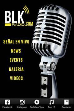 BLK Radio poster