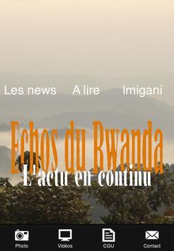 Echos du Rwanda apk screenshot
