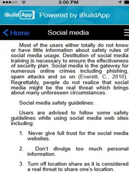 User Security app screenshot 3