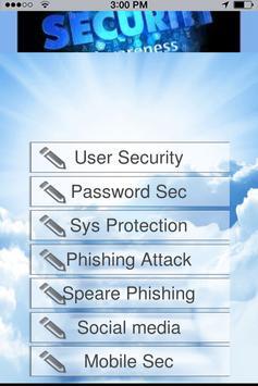 User Security app poster