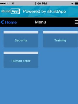 User Security app screenshot 2