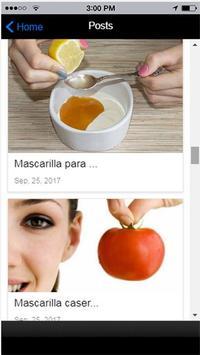 Mascarillas Caseras screenshot 1