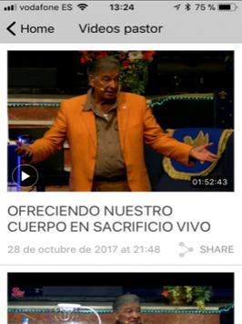 Predicas cristianas Samaria apk screenshot