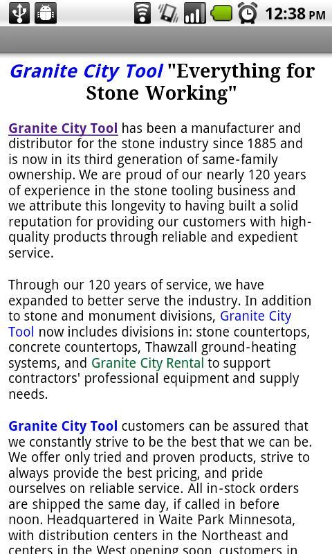 Granite City Tool for Android - APK Download