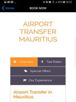 Taxi Service Mauritius apk screenshot
