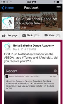 Bella Ballerina Dance Academy screenshot 2