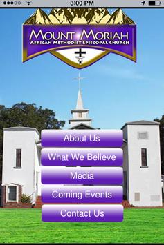 Mount Moriah AME Church poster
